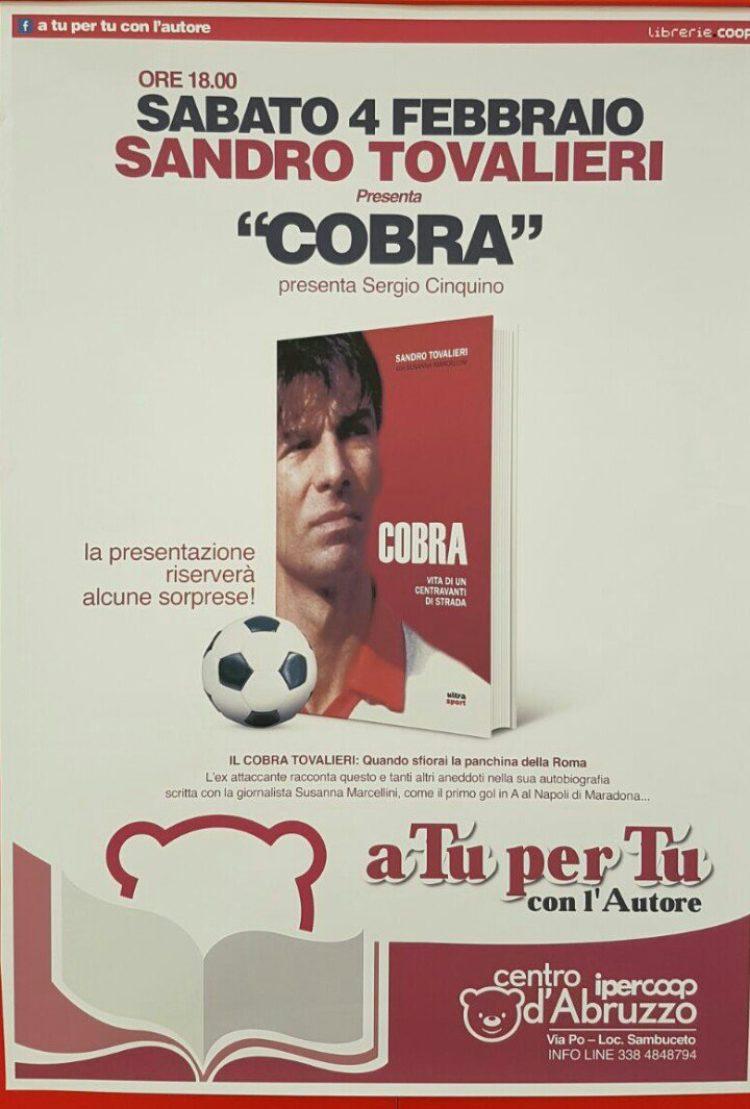 04/02 A Pescara incontro con Sandro Tovalieri