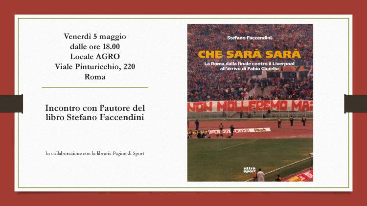 05/05 – A Roma incontro con l'autore Stefano Faccendini