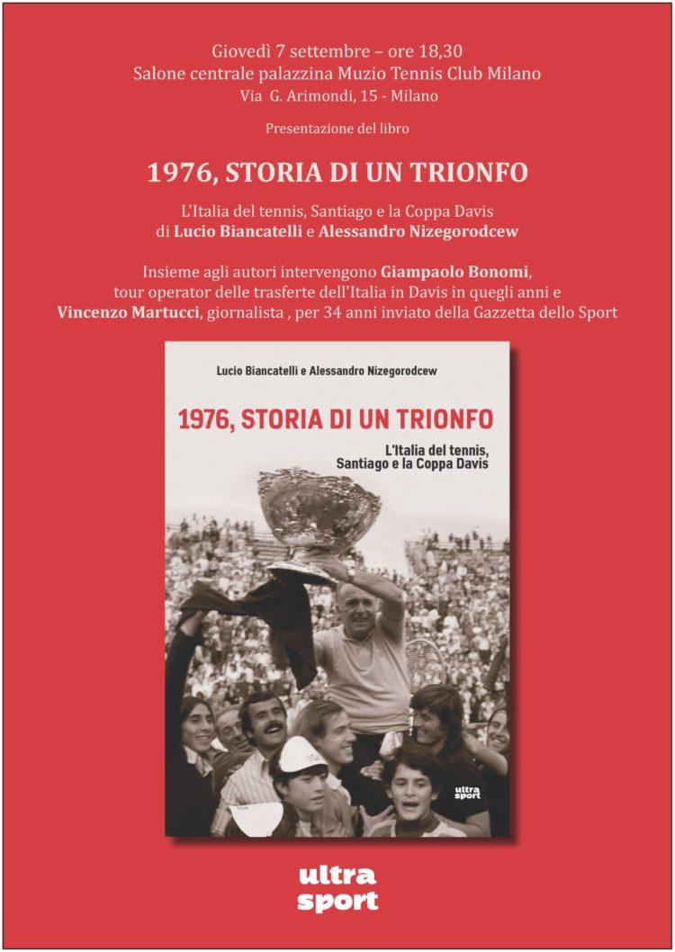 07/09 – Milano – Presentazione di 1976, STORIA DI UN TRIONFO