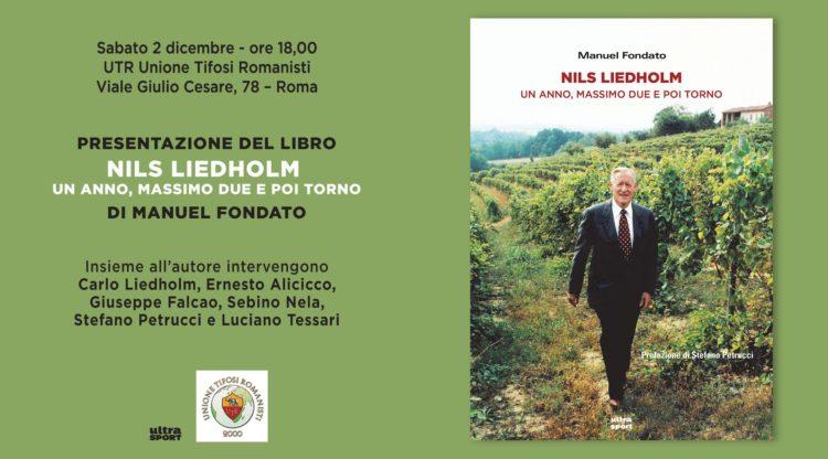 2/12 Unione Tifosi Romanisti, presentazione Nils Liedholm