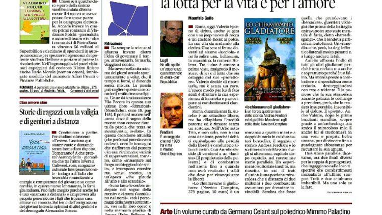 """""""Il miglio inglese"""", Tiziano Carmellini su Il Tempo"""