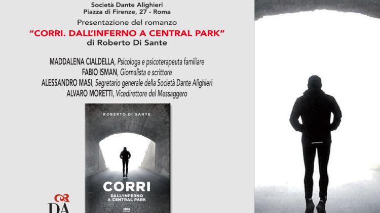 """17/04- Presentazione """"Corri. Dall'Inferno a Central park"""" – Società Dante Alighieri"""