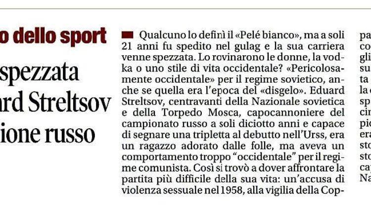 """""""Donne, vodka e gulag"""" di Marco Iaria su Il Tempo"""