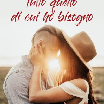 """Dal 25 ottobre in tutte le librerie """"Tutto quello di cui ho bisogno"""" di Debora Ferraiuolo"""