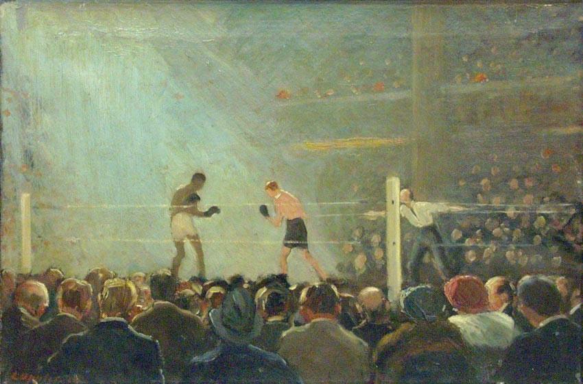 Ernst-oppler_boxkampf_1920_israelmuseumjerusalem