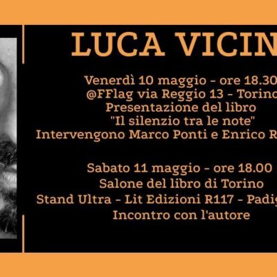 Incontro con Luca Vicini al Salone Internazionale del Libro Torino